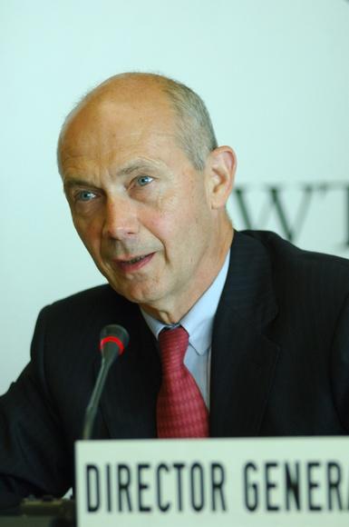 Pascal Lamy, WTO