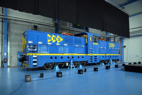 Stadler Rail Builds Record Breaking Locomotive