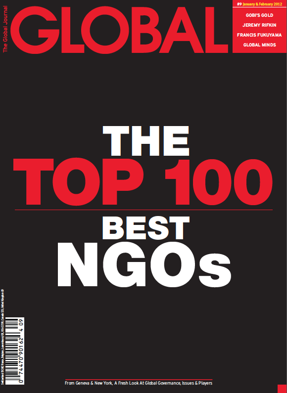 2012 Top 100 Best NGOs by The Global Journal