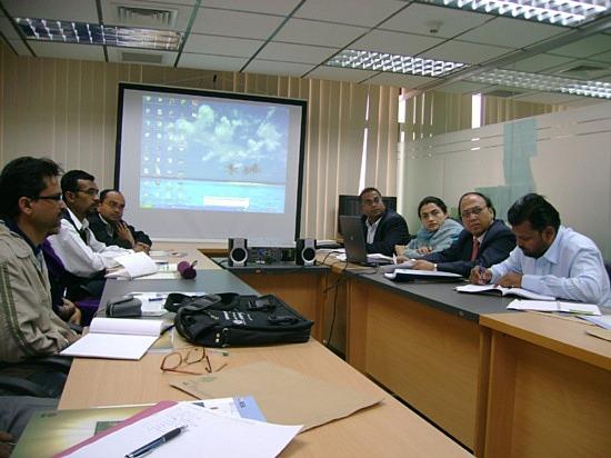 Briefing at ASA