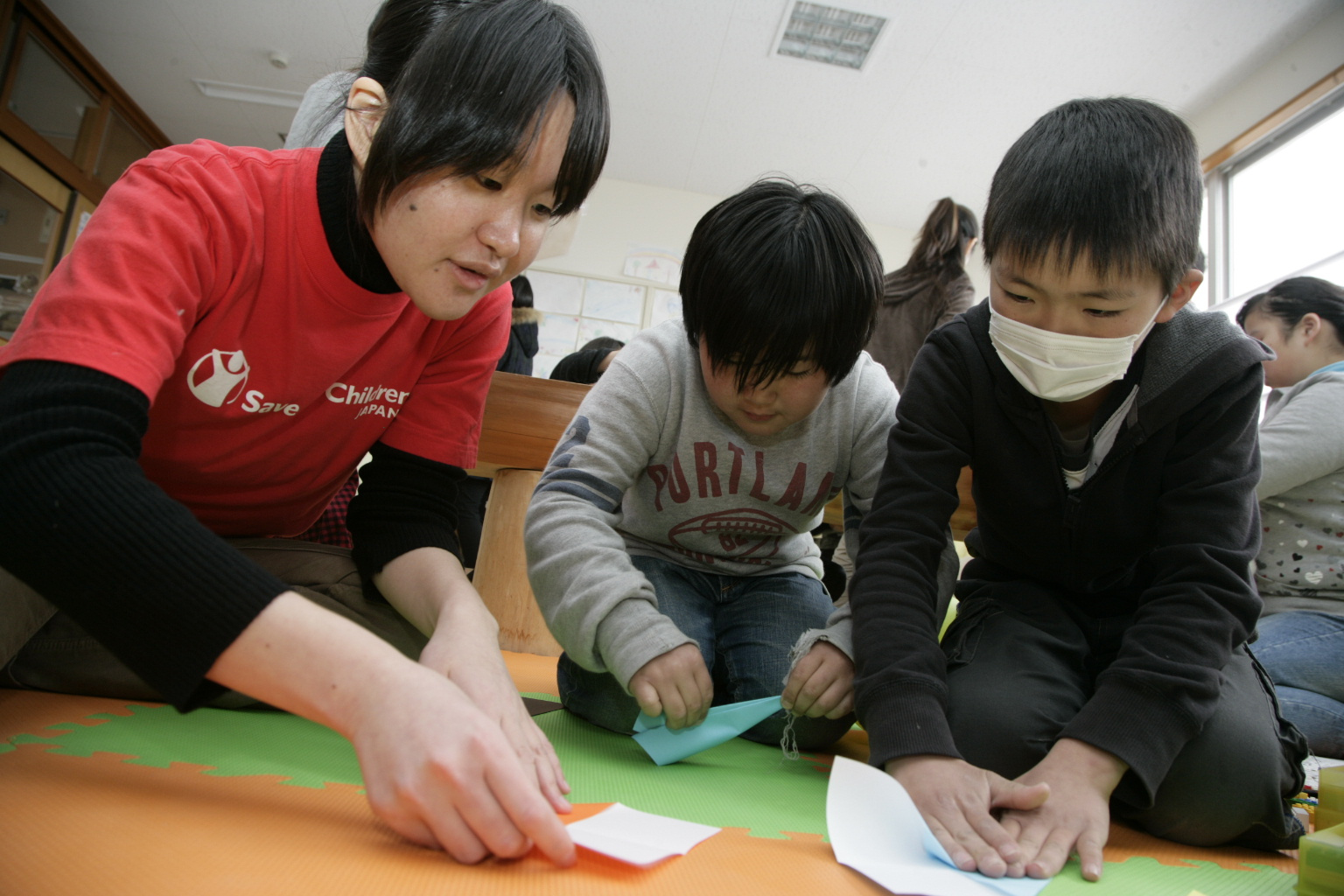 Save the Children Staff member Yuko Nishiguchi
