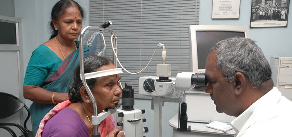 Aravind Clinic in India