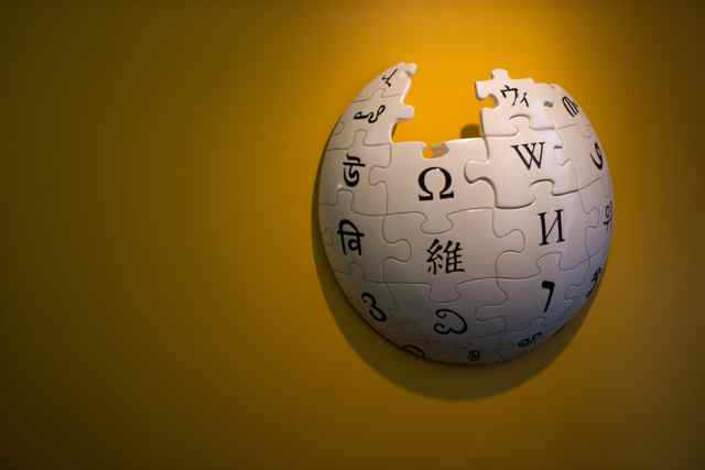 Wikipedia Puzzle Globe