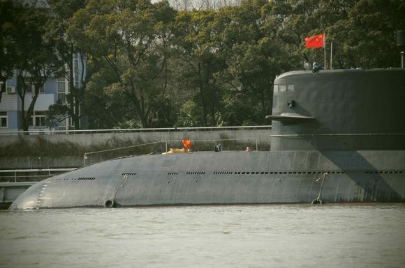 Chinese submarine Web