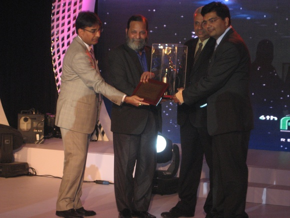 IDEI received Gold Award for Outstanding Contribution of Plastics in Agriculture-2012