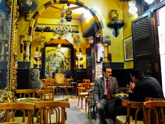 Day 08 - Coffeehouse El Fishawi - Cairo/Old Town - January 31, 2012