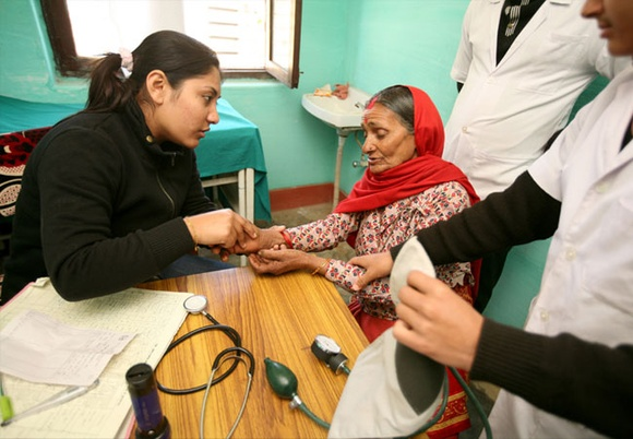 Emergency Cardiac Healthcare in the Himalayas