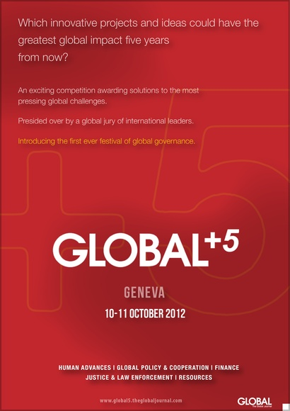 GLOBAL+5: The First Ever Festival of Global Governance